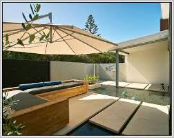 Patio Half Umbrella Half Patio Umbrella Home Design Ideas