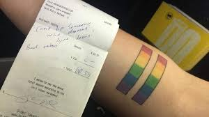 pride tattoo prompts no tip for waitress at buffalo wild wings