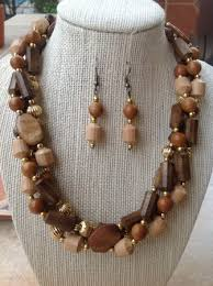 wood beads necklace images Revamped wooden beads jewelry making journal jpg