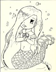 realistic mermaid coloring pages for adults fairy coloring pages