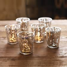 mercury votive holders set of 6 dotandbo com dotandbodream