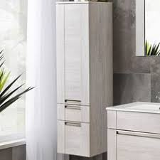 Bathroom Cabinets Tall by Top Double Bathroom Vanity With Attached Tall Cabinet Vanity Amp