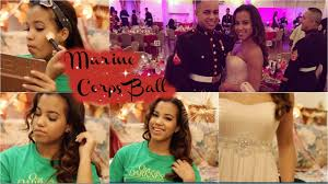 get ready with me marine corps ball youtube