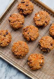 carrot cake breakfast cookies a beautiful plate