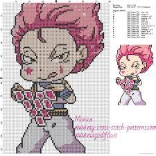 cross stitch pattern design software hisoka hunter x hunter cross stitch pattern free cross stitch