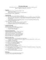 Ballet Resume Dance Resume
