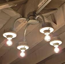 kitchen lighting chandelier handcrafted galvanized metal conduit 4 light chandelier lamps