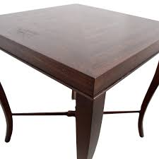 Ethan Allen Tables 49 Off Ethan Allen Ethan Allen Wood Side Table Tables