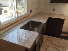 Black Farmers Sink by Granite Farmhouse Sink Install
