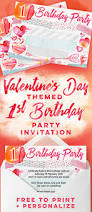 Free Printable Valentine Party Invitations Choice Image Party