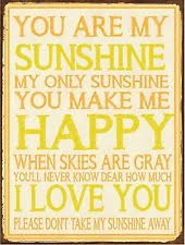 You Are My Sunshine Wall Decor Industrial You Are My Sunshine Decorative Plaques U0026 Signs Ebay