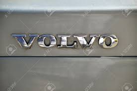 volvo logo gray car and volvo logo stock photo picture and royalty free