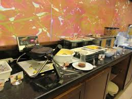 make your own buffet table breakfast buffet make your own waffles picture of tryp by