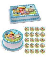 doc mcstuffins edible image set of 24 1 2 edible cup cake photo toppers 3ship ebay polymer