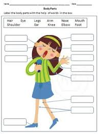 body parts and sense organs for grade 1 and 2 by rituparna reddi