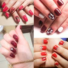 modelones 2017 christmas gift uv nail gel polish red color gel