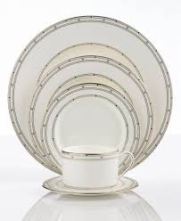 kate spade pebble point 5 place setting