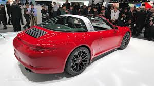 porsche dark red porsche 911 targa 4 gts combines retro and sport perfectly for