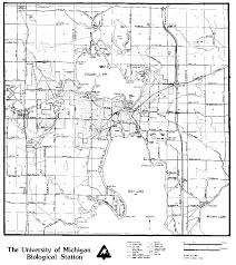 Map Of University Of Michigan Biosphere Reserves