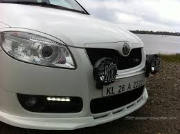 volkswagen polo headlights modified modified cars in india