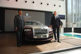 roll royce india rolls royce opens third showroom in india in hyderabad