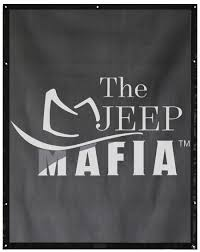 jeep grill logo jeep mafia branded sunshades and accessories u2013 alien sunshade for