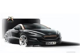 peugeot rcz tuning some like it new peugeot rcz r study with 260hp debuts in paris