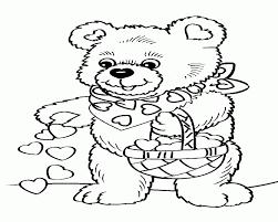 teddy bear holding heart cliparts