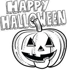 imagenes de halloween para imprimir y colorear halloween para colorear imprimibles para happy pumpkin sketch para
