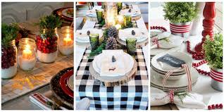 table decor 32 christmas table decorations centerpieces ideas for