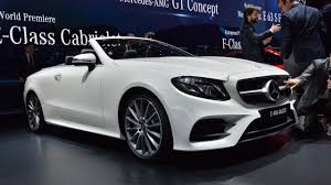 2018 mercedes benz e class cabriolet motor1 com photos