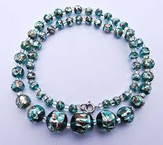 vintage glass crystal necklace images Antique vintage jewelry venetian czech bohemian art deco jpg