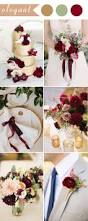 perfect burgundy wedding themes ideas for 2017