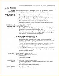 basic resume objective template basic resume objective template business