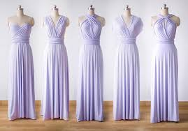 violet bridesmaid dresses violet bridesmaid dress set infinity dress prom dress convertible