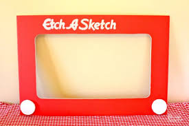 etch a sketch toy story photo booth prop sketches 80s party and