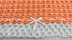 broomstick lace diy learn how to crochet broomstick lace blanket afghan throw