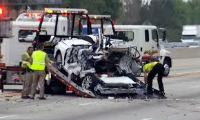 johnson lexus collision lanes reopen after fatal crash on 210 freeway nbc southern