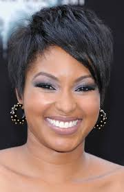 short haircuts for round faces curly hair short hairstyles for round faces black hair hairstyle picture magz