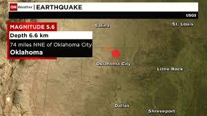 Oklahoma travel distance images Earthquake rattles oklahoma 6 neighboring states jpg