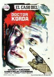 Si E De El Caso Korda 1958 Gestehen Sie Dr Corda De Josef