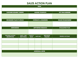 Green Table L Creative Sales Plan Template Design With Unique Green Table
