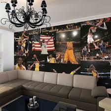 livingroom world large world nba bryant lakers room wallpaper 3d for
