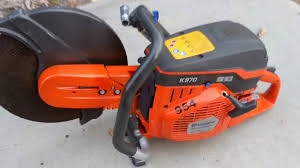 husqvarna k 970 circular saw youtube