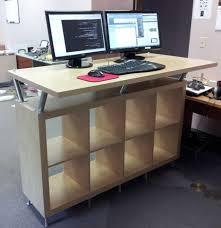 Ergonomic Standing Desk Height Best 25 Standing Desks Ideas On Pinterest Desk Height Intended