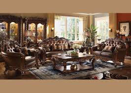 livingroom set acme vendome living room set with sofa and loveseat