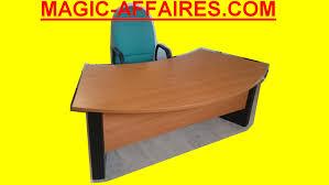 bureau droit bureau droit de direction professionnel avec fauteuil 200 x 110 cm