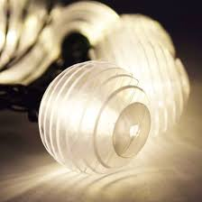 solar string light patio set warm white led bulbs 12 5 ft green