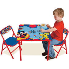 kids table and chairs walmart disney mickey mouse erasable activity table set walmart com
