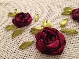 ribbon embroidery flower garden ribbon embroidery the little pomegranate
